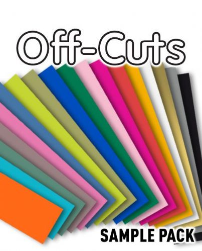 HTV - Off-Cut Sample Pack
